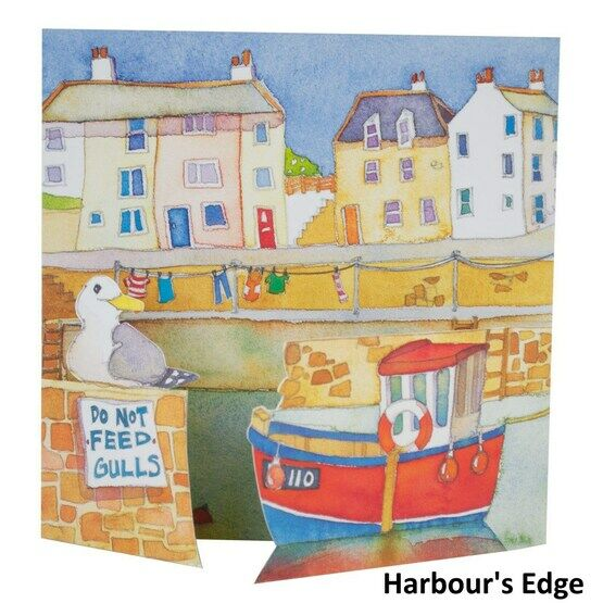Emma Ball Coastal Die Cut Cards - Various Designs