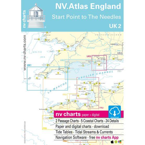 NV Atlas England UK2: Start Point to the Needles