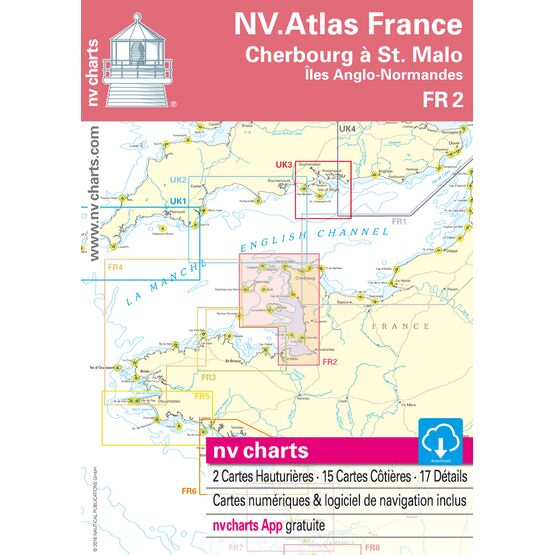 NV Atlas France FR2: Cherbourg to St. Malo