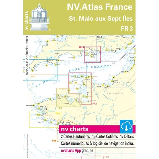 NV Atlas France FR3: St Malo aux Sept Îles