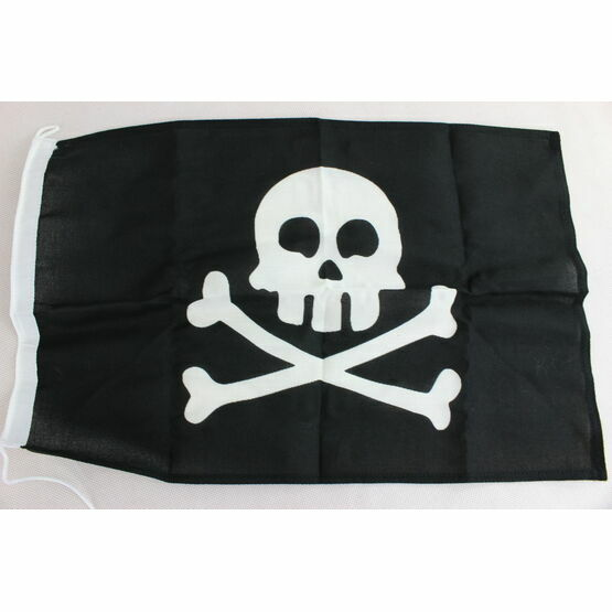 Meridian Zero Jolly Roger Courtesy Flag