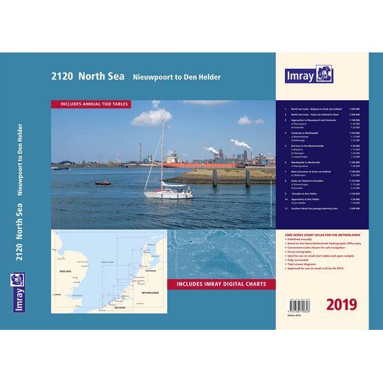Imray 2120 North Sea – Nieuwpoort to Den Helder Chart Atlas