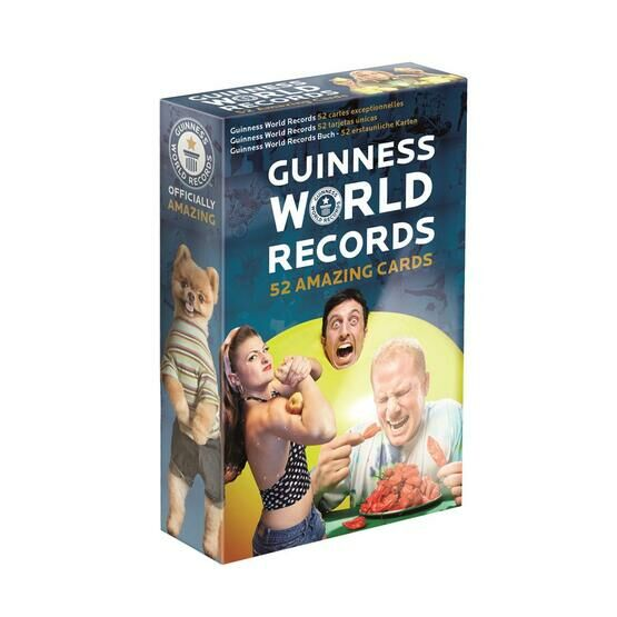 Guiness World Record Playing Cards