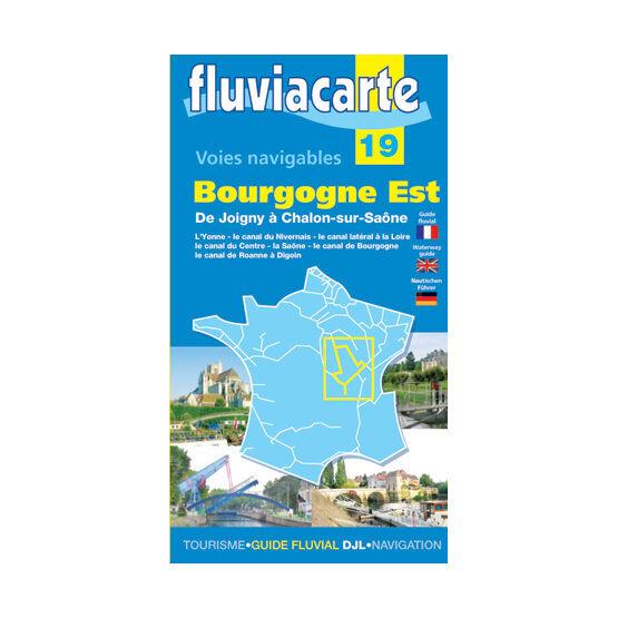 Imray Fluviacarte 19: Bourgogne Est
