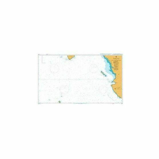 1027 Approaches to Golfo De California Admiralty Chart