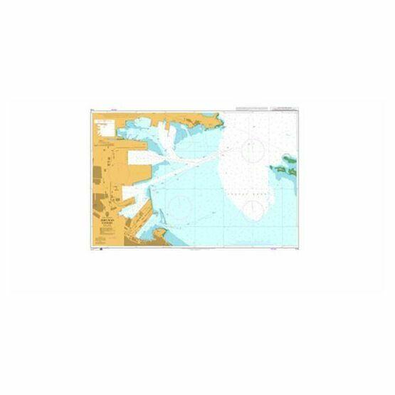1318 Zhifuwan Gangqu Admiralty Chart
