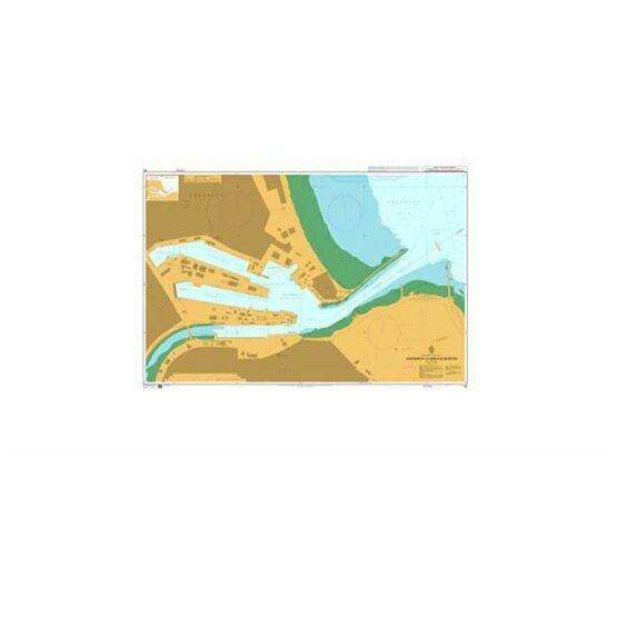 146 Aberdeen Harbour Berths Admiralty Chart