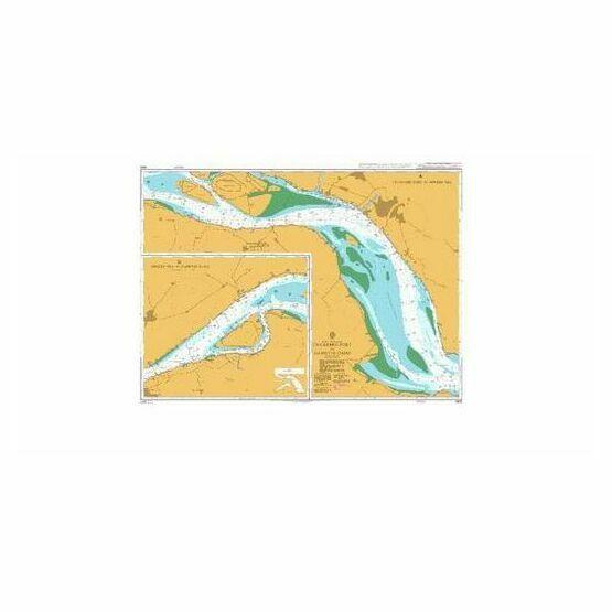 1605 Changshu Port to Huangshan Gang Admiralty Chart