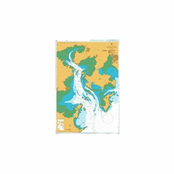 1736 Meizhou Wan Admiralty Chart