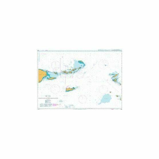 2016 Puerto Rico to Leeward Islands Admiralty Chart