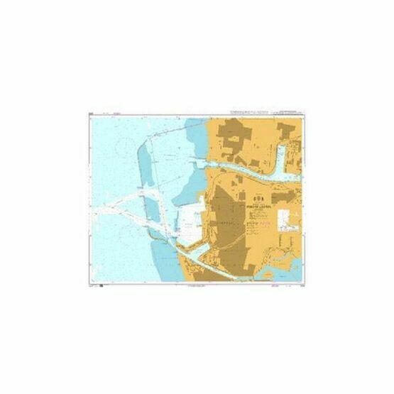 2292 Port of Liepaja Admiralty Chart