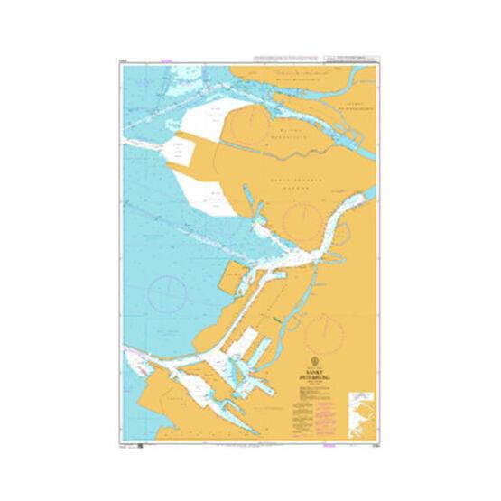 2364 Sankt Peterburg Admiralty Chart