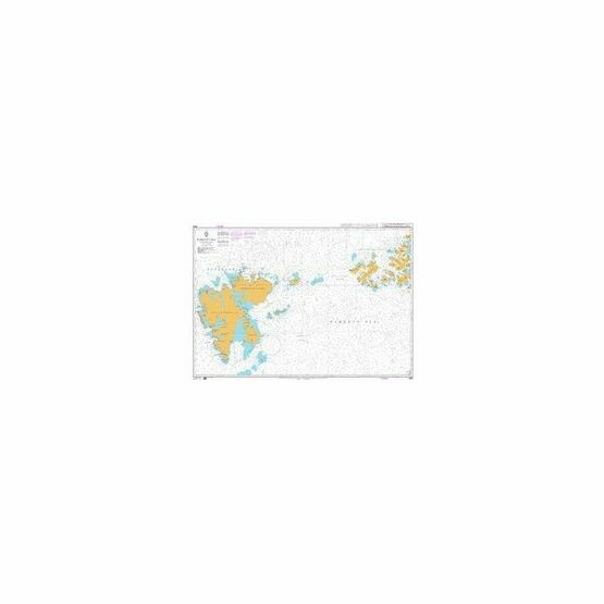 2682 Barents Sea Northern Part Admiralty Chart