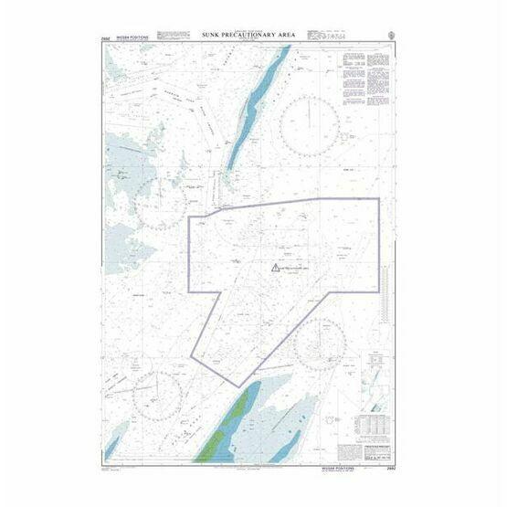 2692 Sunk Inner Precautionary Area Admiralty Chart