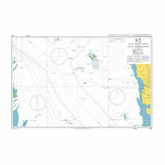 2870 Pulau-Pulau Leman to Pulau Tokongkemudi Admiralty Chart