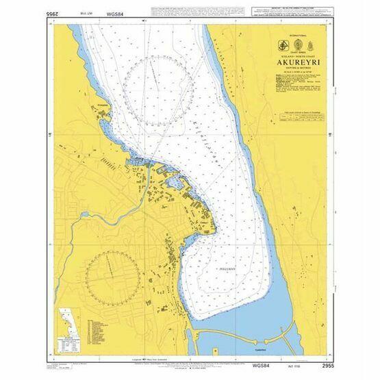 2955 Akureyri Admiralty Chart