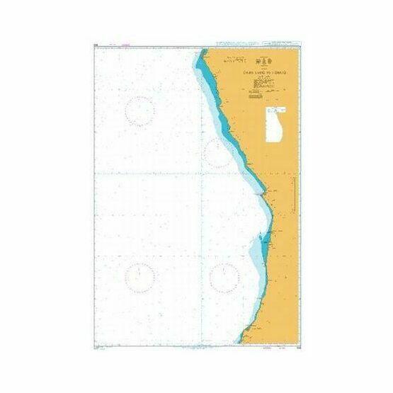 308 Cabo Ledo to Lobito Admiralty Chart