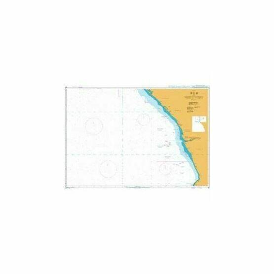311 Gamba to Luanda Admiralty Chart
