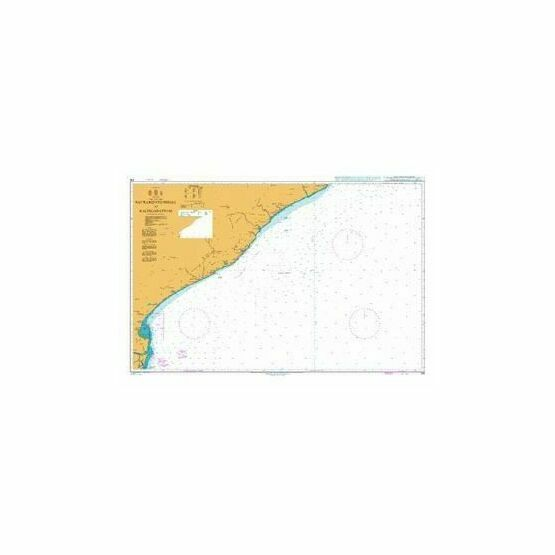 319 Sacramento Shoal to Kalingapatnam Admiralty Chart
