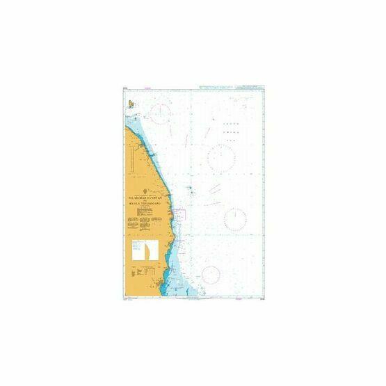 3446 Pelabuhan Kuantan to Kuala Terengganu Admiralty Chart