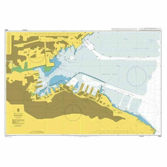 3695 Dalian Admiralty Chart