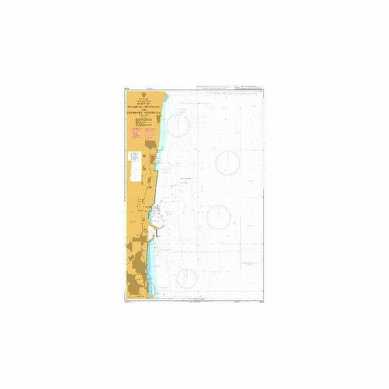 3709 Port of Fujairah (Fujayrah) and Offshore Terminals Admiralty Chart
