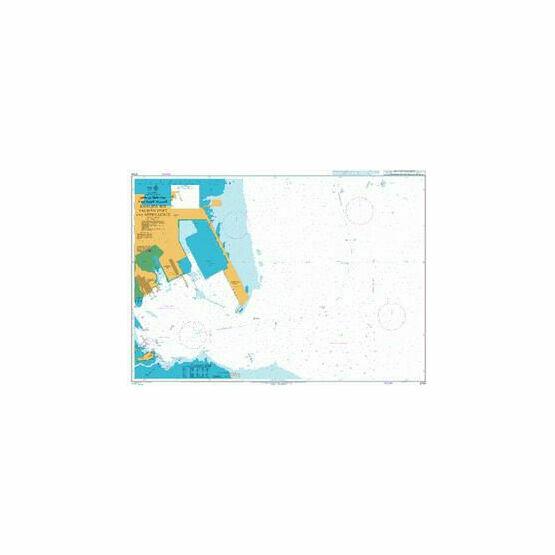 3734 Khalifa Bin Salman Port and Approaches Admiralty Chart