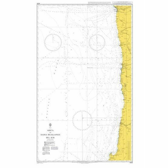 4220 Arica to Bahia Mejillones Del Sur Admiralty Chart