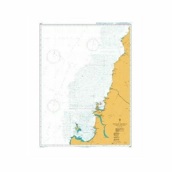 4246 Golfo de Arauco to Cabo Carranza Admiralty Chart