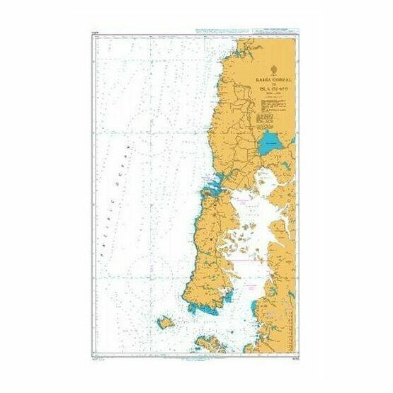 4250 Bahia Corral to Isla Guafo Admiralty Chart