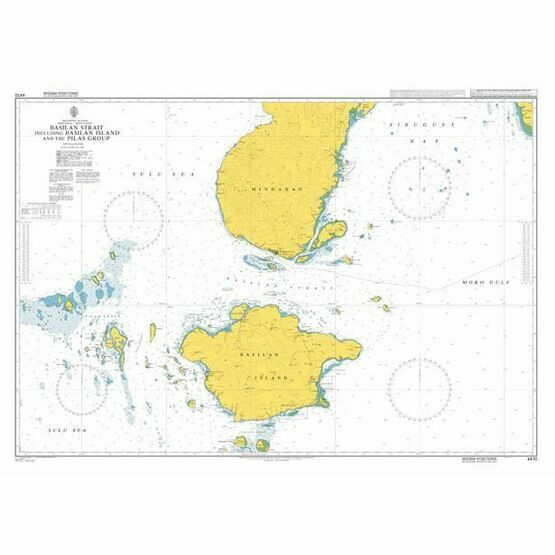 4470 Basilan Strait including Basilan Island and the Pilas Group Admiralty Chart