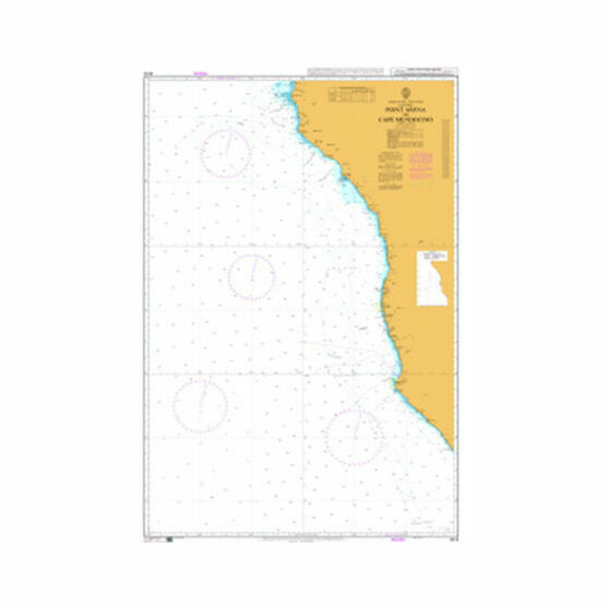 4915 Point Arena to Cape Mendocino Admiralty Chart
