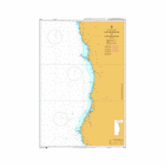 4916 Cape Mendocino to Cape Sebastian Admiralty Chart