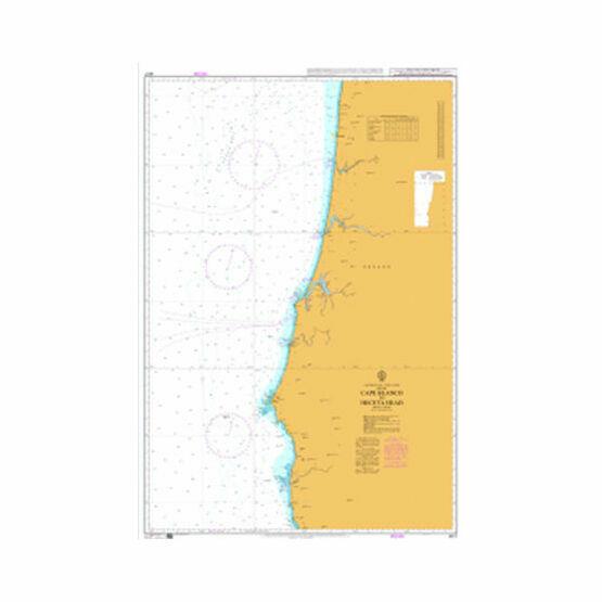 4917 Cape Blanco to Heceta Head Admiralty Chart