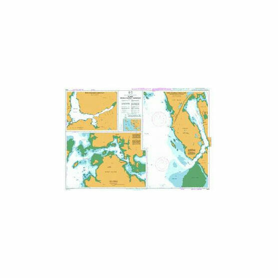 4938 Plans Prince Rupert Harbour Admiralty Chart
