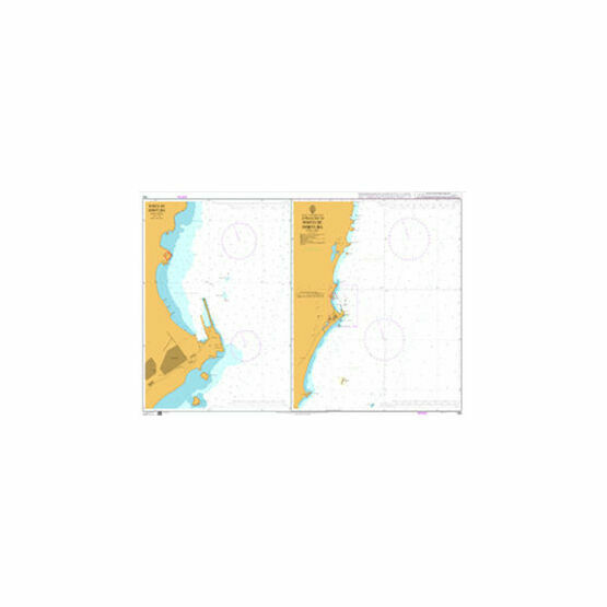 546 Approaches to Porto de Imbituba Admiralty Chart