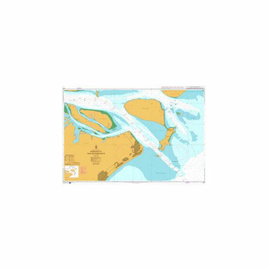 579 Entrance to Baia de Paranagua Admiralty Chart