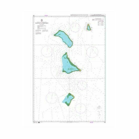 730 Maiana to Marakei Admiralty Chart