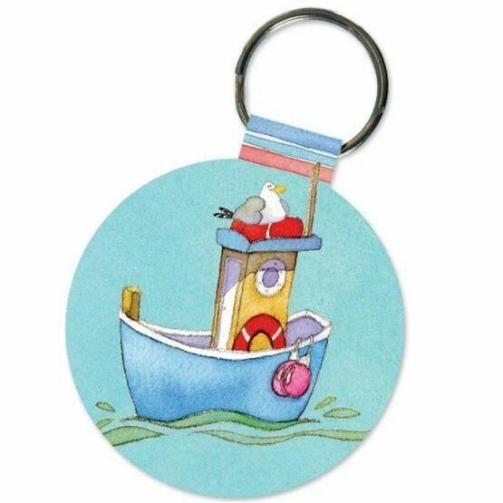 Emma Ball 'Boats Afloat' Keyring
