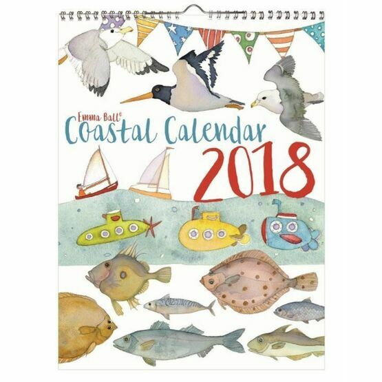 Emma Ball Coastal Calendar 2018