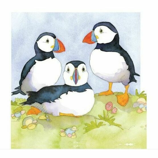 Emma Ball Coaster - Puffins