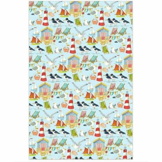 Emma Ball Gift Wrap Pack - A Day At The Seaside