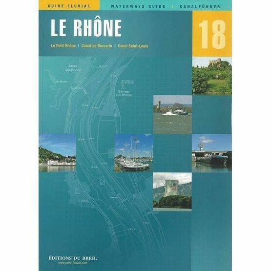 Imray Editions Du Breil No. 18 Le Rhone Waterway Guide