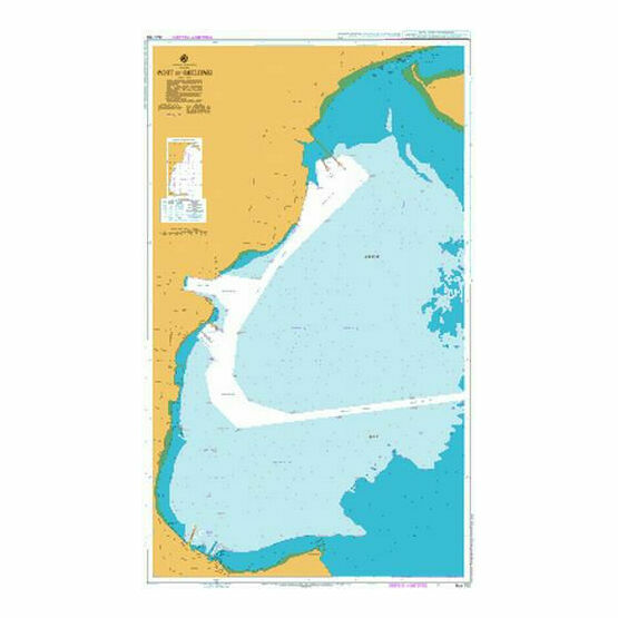 AUS153 Port of Geelong Admiralty Chart