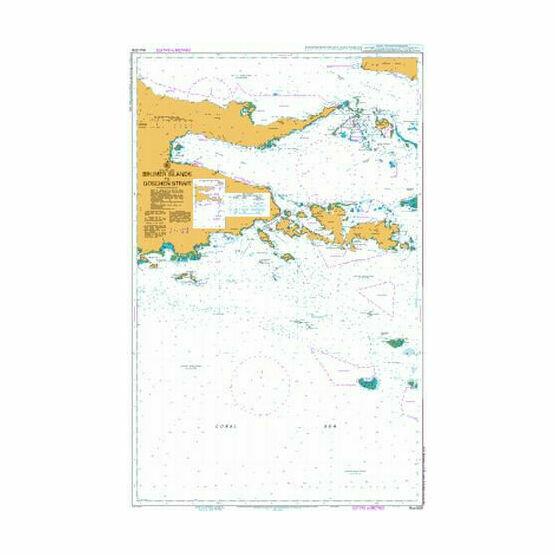 AUS508 Brumer Islands to Goschen Strait Admiralty Chart