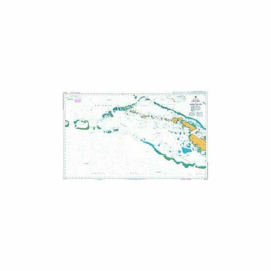 AUS510 Long Reef to Sudest Island Admiralty Chart