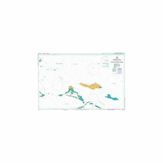 AUS512 Misima Island to Bonvouloir Islands Admiralty Chart