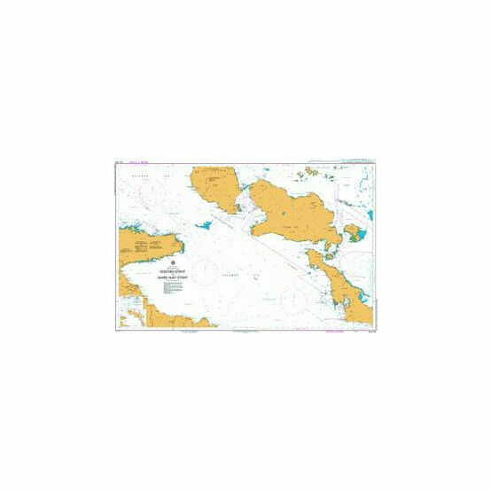 AUS518 Goschen Strait to Ward Hunt Strait Admiralty Chart