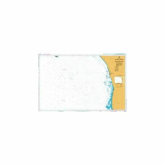 AUS752 Pelsaert Island to Beagle Islands Admiralty Chart