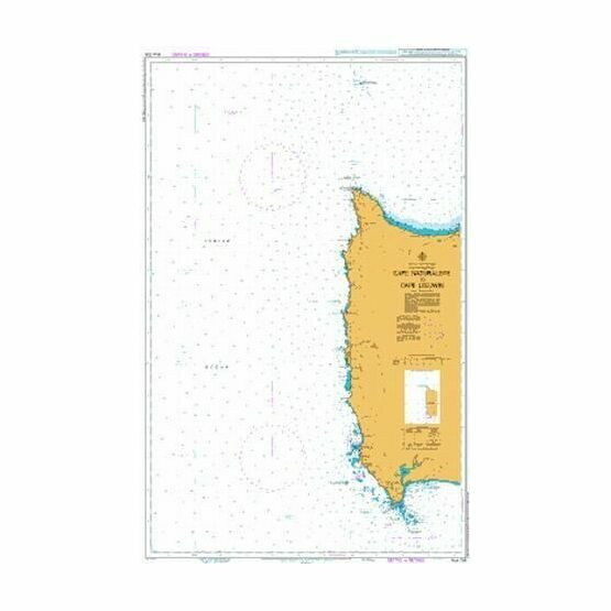 AUS756 Cape Naturaliste To Cape Leeuwin Admiralty Chart